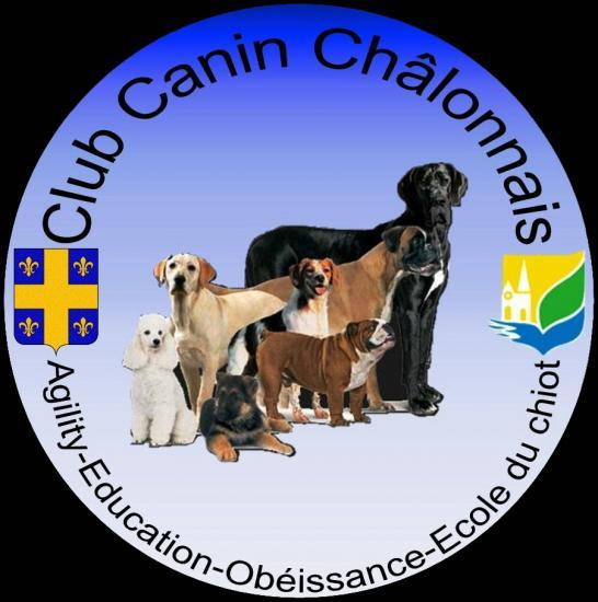 Logo club canin de châlons